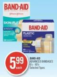 Band-aid Advanced Bandages 6's-80's
