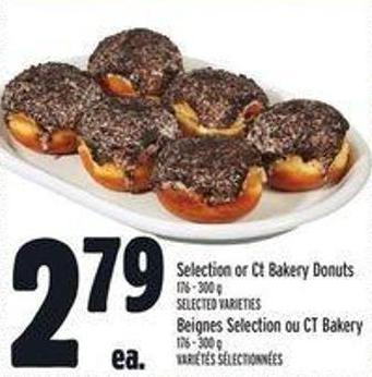 Selection or Ct Bakery Donuts