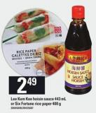 Lee Kum Kee Hoisin Sauce - 443 Ml Or Six Fortune Rice Paper - 400 G