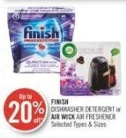 Finish  Dishwasher Detergent or Air Wick Air Freshener