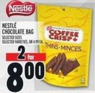 Nestlé Chocolate Bag