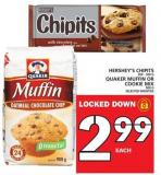 Hershey's Chipits Or Quaker Muffin Or Cookie Mix