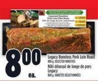 Legacy Boneless Pork Loin Roast