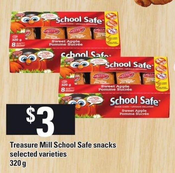 Treasure Mill School Safe Snacks 320 g