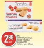 PC Shortbread (200g) - Greek Yogurt or Cereal Bars