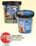Ben & Jerry's Ice Cream 500ml