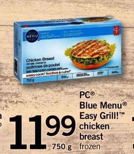 PC Blue Menu Easy Grill! Chicken Breast