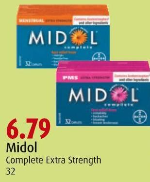 Midol  Complete Extra Strength 32