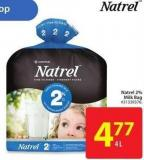 Natrel 2% Milk Bag 4 L