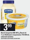 Becel Margarine 680-907 G - Becel Oil 1 L Or Hellmann's Mayonnaise 710-890 Ml