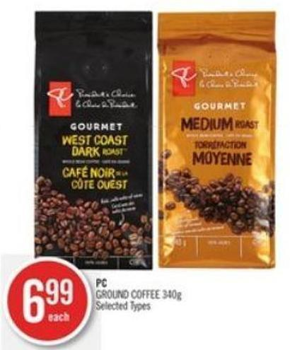 PC Ground Coffee 340g