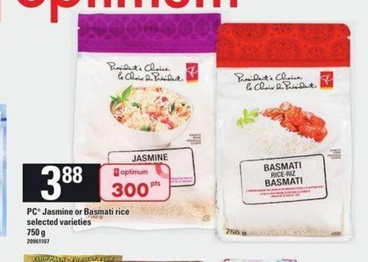 PC Jasmine Or Basmati Rice - 750 g