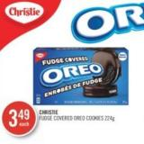 Christie Fudge Covered Oreo Cookies 224 g