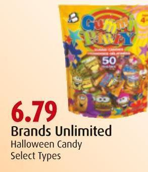 Brands Unlimited Halloween Candy