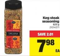Keg Steak Seasoning - 825 G