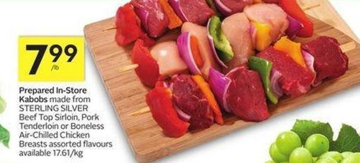 Prepared In-store Kabobs
