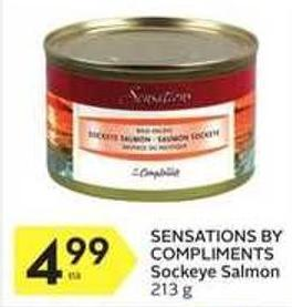 Sensations By Compliments Sockeye Salmon