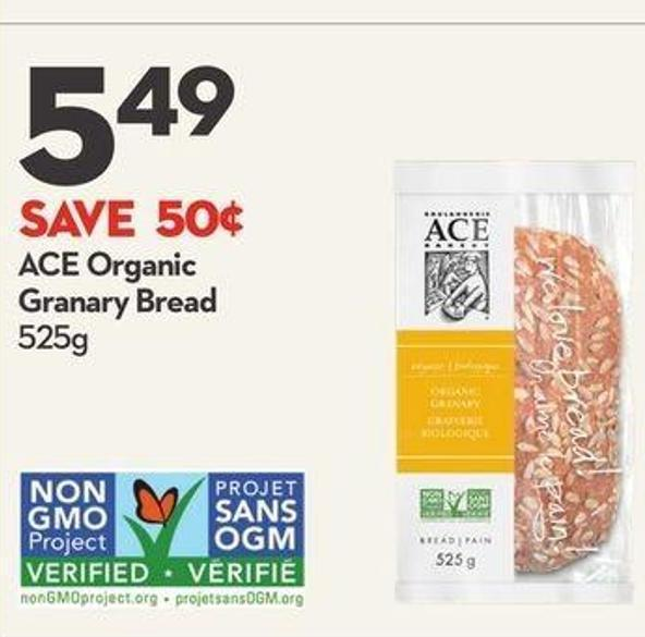 Ace Organic Granary Bread