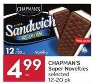 Chapman's Super Novelties Selected 12-20 Pk