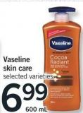 Vaseline Skin Care - 600 Ml