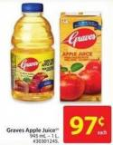 Graves Apple Juice