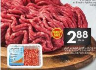 Lean Ground Beef