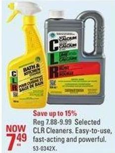 Selected Clr Cleaners Easy-to-use - Fast-acting and Powerful
