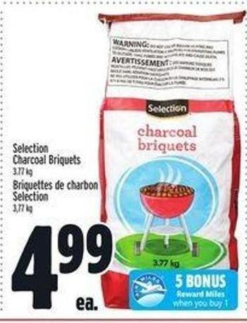 Selection Charcoal Briquets