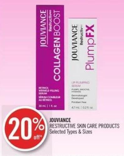 Jouviance Restructive Skin Care Products