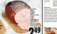 Irresistibles Artisan Hardwood Smoked Pork Loin Or Ham