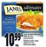 Janes Breaded Ultimates Frozen - 575 - 615 g