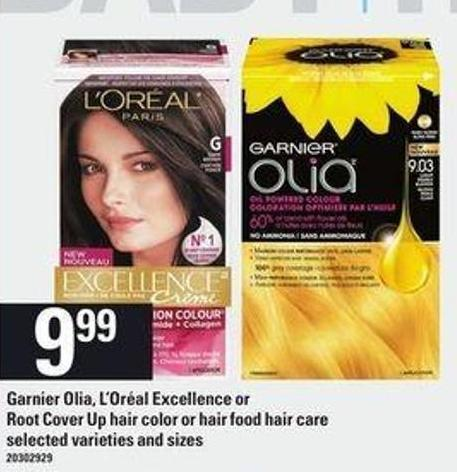 Garnier Olia - L'oréal Excellence Or Root Cover Up Hair Color Or Hair Food Hair Care