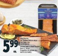 Dom Reserve Hot Smoked Fish 125 - 160 G Or Fish Cakes 280 G