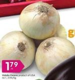Vidalia Onions Product of USA No 1 - 3.94/kg