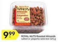 Royal Nuts Roasted Almonds