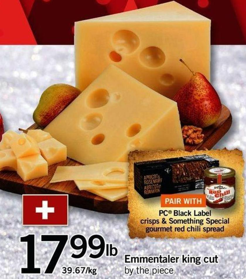 Emmentaler King Cut