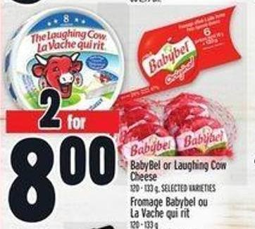 Babybel Or Laughing Cow Cheese