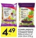 Compliments Chopped Salad Kits