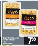 Ziggy's Fresh Filled Pasta - 1 Kg