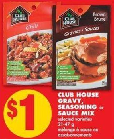 Club House Gravy - Seasoning or Sauce Mix - 21-47 g