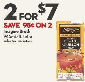 Imagine Broth 946ml-1l Tetra
