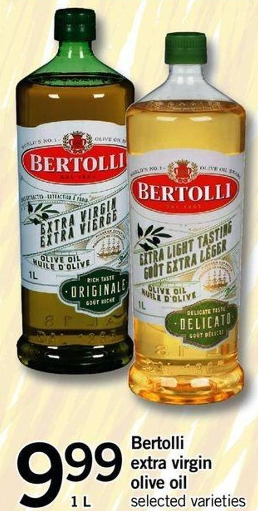 Bertolli Extra Virgin Olive Oil - 1