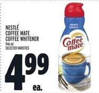Nestlé Coffee-mate Coffee Whitener - 946 Ml