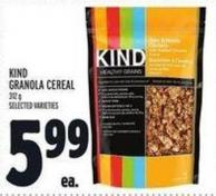 Kind Granola Cereal