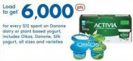 Danone Dairy Or Plant Based Yogurt - Includes Oikos - Danone - Silk Yogurt