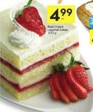 Real Cream Layered Cakes 300 g