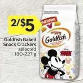 Goldfish Baked Snack Crackers