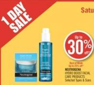 Neutrogena  Hydro Boost Facial Care Products