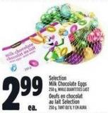 Selection Milk Chocolate Eggs 250 G