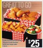 Fried Chicken Family Combo - 18 Piece Fried Chicken With Two Large Sides